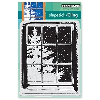 Penny Black - Slapstick Cling Stamp - Frosty Day