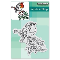 Penny Black - Slapstick Cling Stamp - Overjoyed