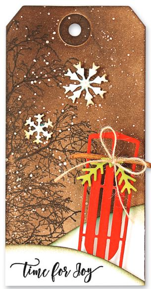 Penny Black - Christmas & Winter stamps and cutting dies