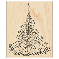 Penny Black - Wood Mounted Stamp - Sparkling Christmas