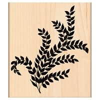 Penny Black Wood Stamp - Verdant