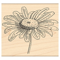 Penny Black Wood Stamp - Graceful
