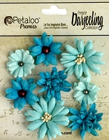 Petaloo - new flowers and burlap trims