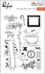Pink Fresh Studio - Clear Stamps - December Days