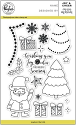 Pink Fresh Studio - Clear Stamps - Joy and Cheer