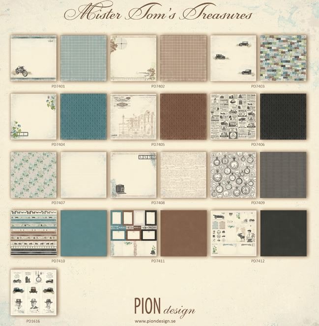 Pion - Mr. Tom's Treasures Collection