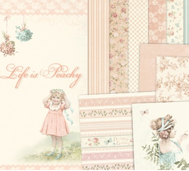 PRE-ORDER - Pion Design - Life is Peachy Collection