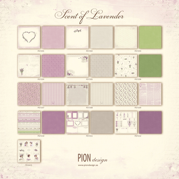 Pion - Scent of Lavender Collection