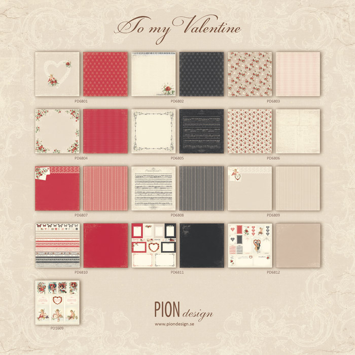 Pion Design - To My Valentine Collection
