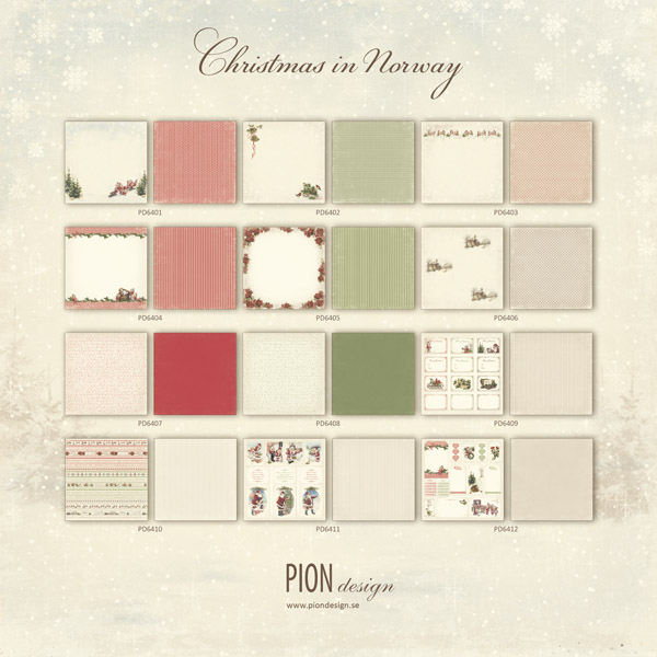 Pion Design - Christmas In Norway collection