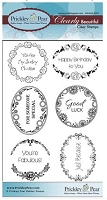 Prickley Pear - Clear Stamp - Scalloped Circle Oval 5