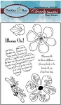 Prickley Pear Clear stamp -Hibiscus