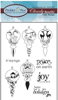 Prickley Pear Clear Stamp  - Victorian Ornaments 2