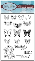 Prickley Pear - Clear Stamp Set - Mini Butterflies 2