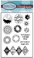 Prickley Pear - Clear Stamp Set - Gears 2