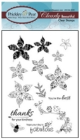 Prickley Pear - Clear Stamp Set - Poinsettia
