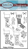 Prickley Pear - Clear Stamp Set - Stockings