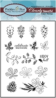 Prickley Pear - Clear stamp - Fall Leaves