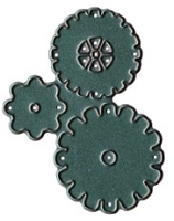 Prickley Pear Die - Steampunk Gears