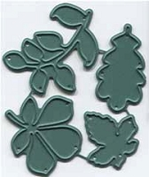 Prickley Pear - Cutting die - Mini Leaf set