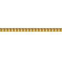 Prima-Trim Edgings-Gold Tassel (1 yard)
