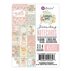 Prima - Heaven Sent (Part 2) Collection - 3x4 Journaling Cards