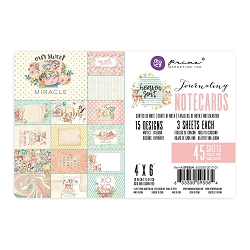 Prima - Heaven Sent (Part 2) Collection - 4x6 Journaling Cards