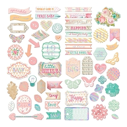 Prima - Heaven Sent (Part 2) Collection - Chipboard