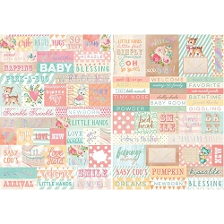 Prima - Heaven Sent (Part 2) Collection - Word Stickers