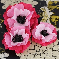 Prima - Poppies & Peonies Col - Pink