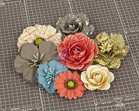 Prima - Allstar Collection - Paper Flowers 1