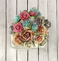 Prima - Fairy Rhymes Collection - Mini Rose Stems