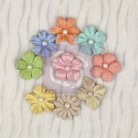 Prima - Pocket Book Pad Collection - Mulberry Flower Multi Pack