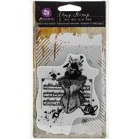 Prima Marketing - Mixed Media (Collage) cling stamps