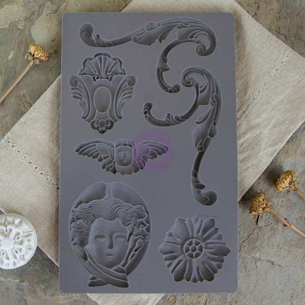 Prima - Iron Orchid Moulds and Paper Clay