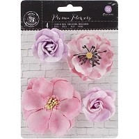 Prima - Watercolor Mulberry Paper Flowers - Amethyst
