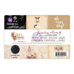 Prima - Love Clippings Collection - 4x6 Journaling Cards