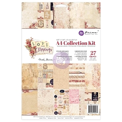 Prima - Love Clippings Collection - A4 Collection Kit (8.5