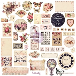 Prima - Love Clippings Collection - Chipboard & More