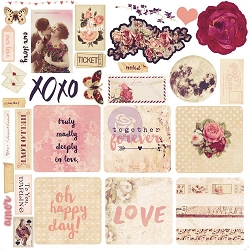 Prima - Love Clippings Collection - Ephemera