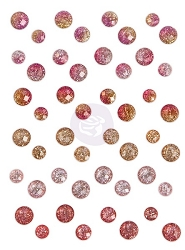 Prima - Love Clippings Collection - SIIC (Say It In Crystal) self-adhesive crystals