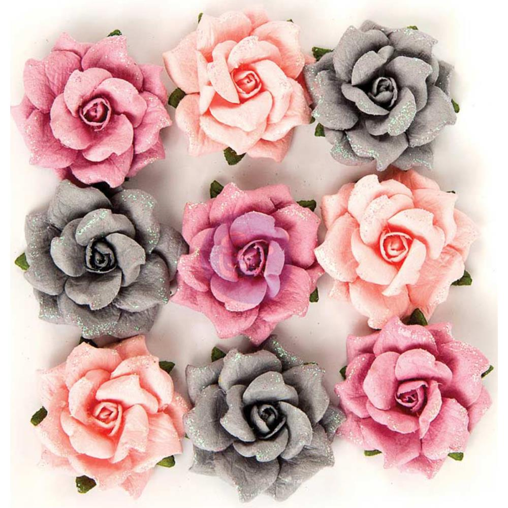 Prima - new mulberry paper flowers