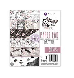 Prima - Rose Quartz Collection - 6x6 Paper Pad