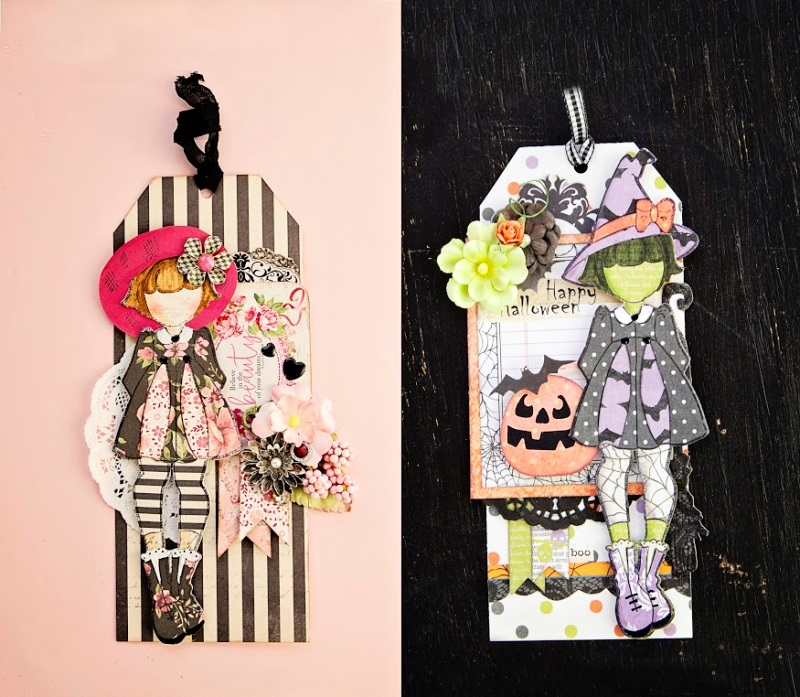 Prima - new Julie Nutting Mixed Media Doll Stamps & Dies