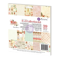Prima - Sweet Peppermint Collection - 6x6 Paper Pad