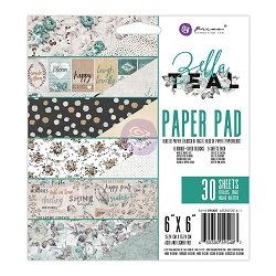 Prima - Zella Teal Collection - 6x6 Paper Pad