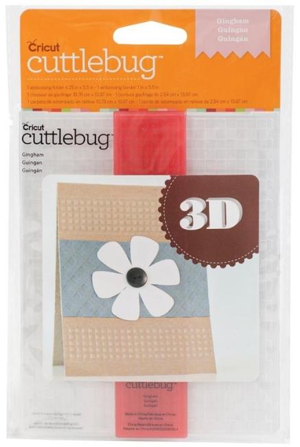 Cuttlebug embossing folder a2 border set gingham for Www cuttlebug crafts com
