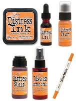 Ranger - Tim Holtz Distress color of the month - October 2015
