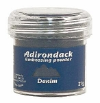 Ranger Adirondack Embossing Powders - Denim (1 oz)