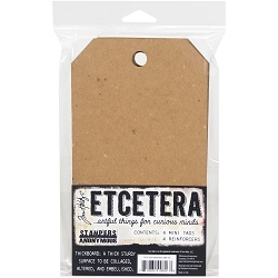 Stampers Anonymous - Tim Holtz EtCetera - Thickboard
